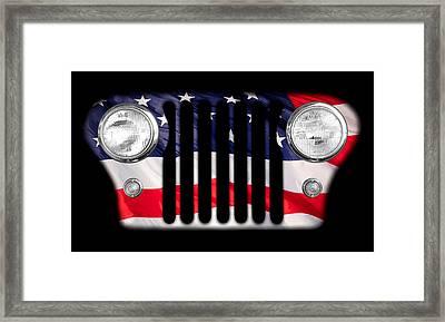 All-american Framed Print by Luke Moore