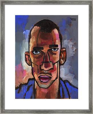 All Blues Framed Print by Douglas Simonson