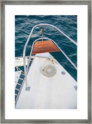All Coiled Up Framed Print by Michael Glenn