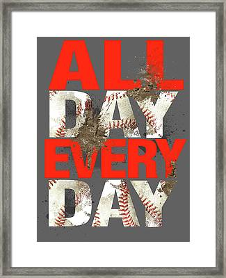All Day Every Day Framed Print by Jim Baldwin