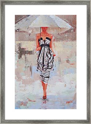 All Dressed Up Framed Print by Laura Lee Zanghetti