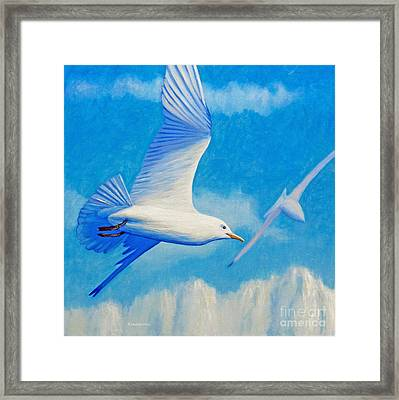 All Fly Home Framed Print by Brian  Commerford
