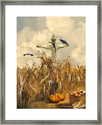 All Hallows' Eve Framed Print by IM Spadecaller