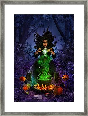 All Hallows Eve Framed Print by Cassiopeia Art
