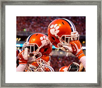 All In Framed Print by Carlton Griffith