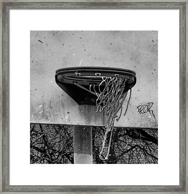 All Net Framed Print by Bill Cannon