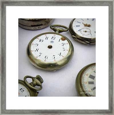 All Out Of Time Framed Print by Lainie Wrightson
