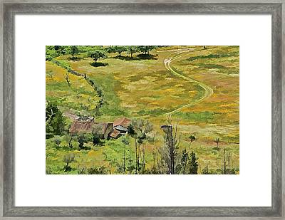 All Roads Lead Home Framed Print by David Letts