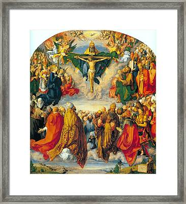 All Saints 1511 Framed Print by Philip Ralley