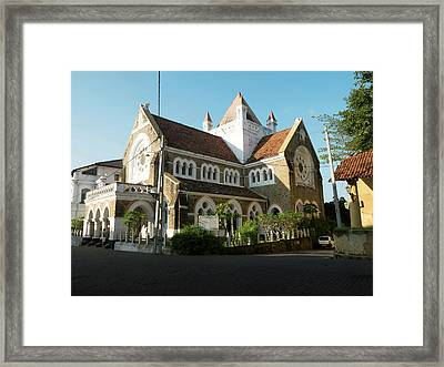 All Saints Church, Church Street, Galle Framed Print by Panoramic Images
