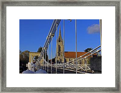 All Saints Church Framed Print by Tony Murtagh