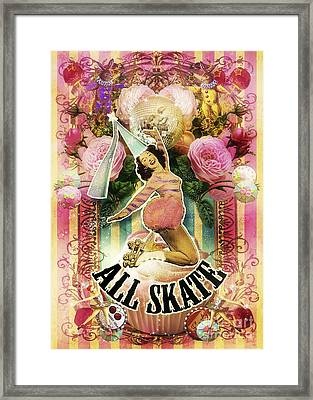 All Skate Framed Print by Aimee Stewart