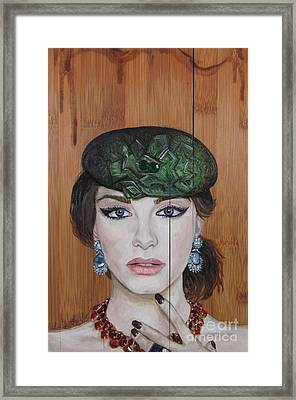 All That Girls Love 2 Framed Print by Malinda  Prudhomme