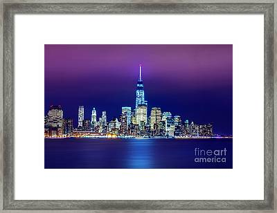 All That Glitters Framed Print by Az Jackson