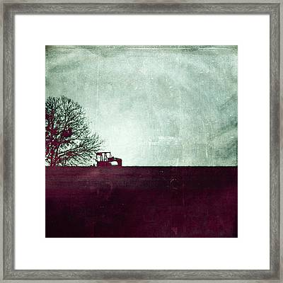 All That's Left Behind Framed Print by Trish Mistric