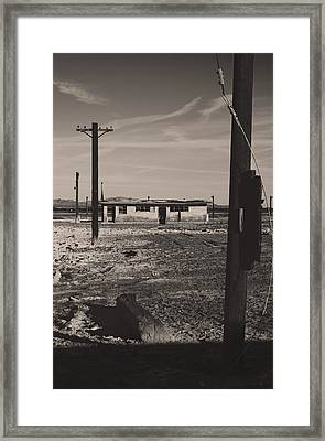 All That's Left Of Us Framed Print by Laurie Search