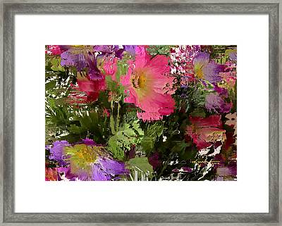 All The Flower Petals In This World 3 Framed Print by Kume Bryant