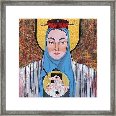 All The Mothers Of My Mother And Mothers After Me Framed Print by Maria Saunders
