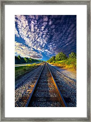 All The Way Home Framed Print by Phil Koch