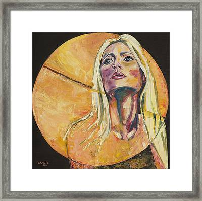 All Yellow Framed Print by Christel  Roelandt