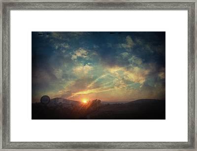 All You Leave Behind Framed Print by Taylan Apukovska