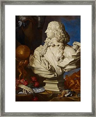 Allegorical Still Life Framed Print by Francesco Stringa
