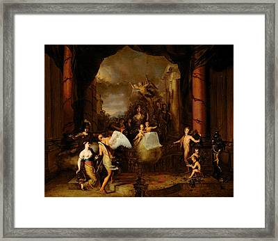 Allegory Of The City Of Amsterdam Framed Print by Gerard de Lairesse
