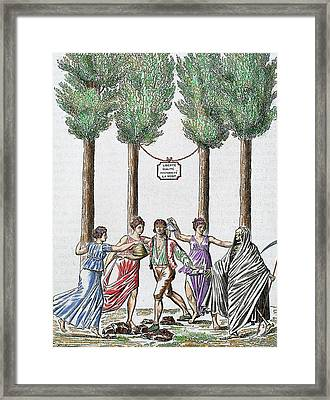 Allegory Of The French Revolution Framed Print by Prisma Archivo