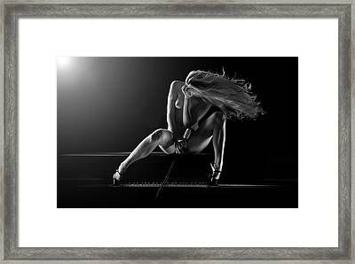Allegro Framed Print by Dario Infini