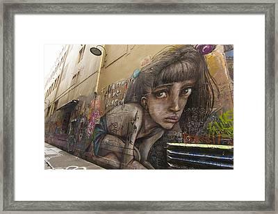 Alley Graffiti #2 Framed Print by Stuart Litoff