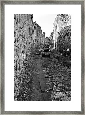Alleyway Framed Print by Marion Galt
