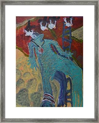 Allmarine Framed Print by Nancy Mauerman