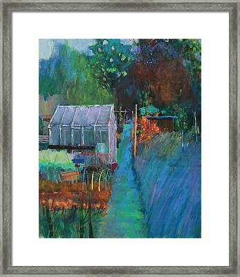 Allotment Framed Print by Marco Cazzulini