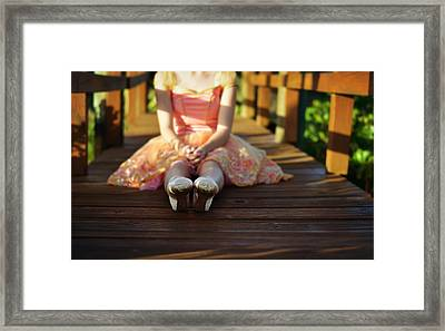 All's Well That Ends Well Framed Print by Laura Fasulo