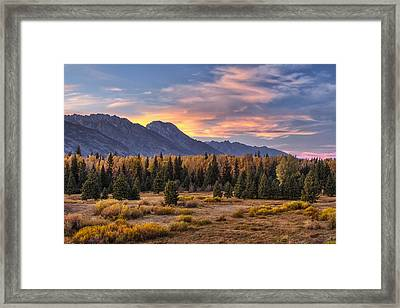 Alluring Conclusion Framed Print by Mark Kiver