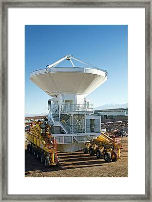 Alma Antenna Transportation Framed Print by Eso/s. Rossi