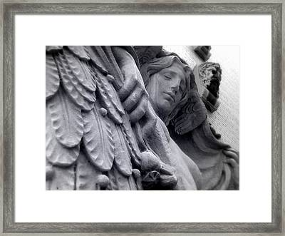 Almost Angel Framed Print by Jhoy E Meade