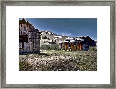 Almost Forgotten Framed Print by Ellen Heaverlo