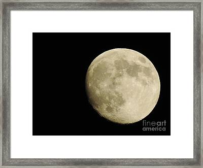 Almost Full Framed Print by Tom Riggs