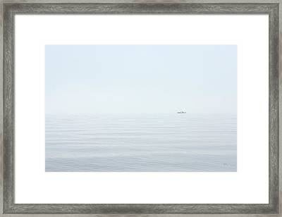 Almost Invisible Framed Print by Karol Livote