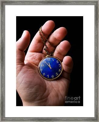 Almost Midnight Framed Print by Sinisa Botas