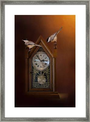 Almost Snack Time Framed Print by Jai Johnson