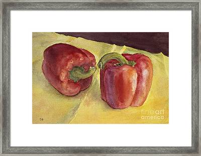 Almost Framed Print by Susan Driver