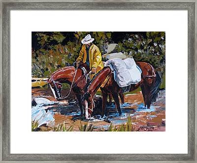 Almost There Framed Print by Janina  Suuronen