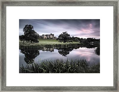 Alnwick Castle Sunset Framed Print by Dave Bowman