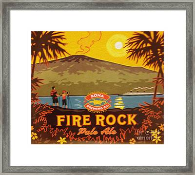 Aloha Series 3 Framed Print by Cheryl Young