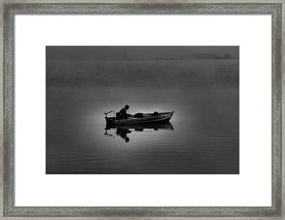 Alone Framed Print by Dan Sproul
