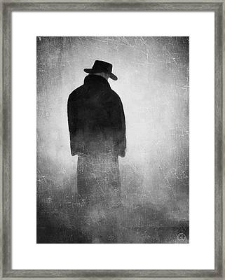Alone In The Fog 2 Framed Print by Gun Legler