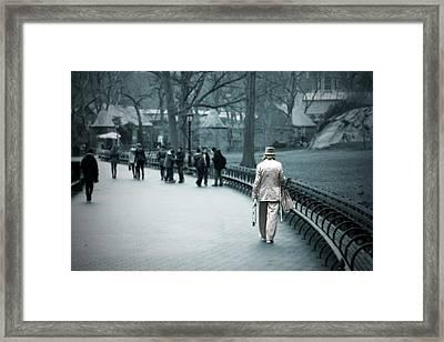 Alone Framed Print by Joanna Madloch