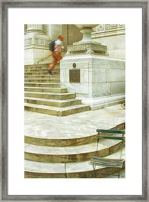 Alone Framed Print by Karol Livote